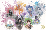 (SOLD OUT) Critical Role 100th Episode David Mack Art Print