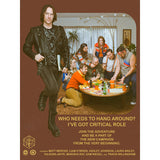 *SOLD OUT* Critical Role Throwback Poster