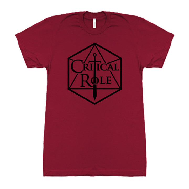 Geek and Sundry Critical Role Shirt