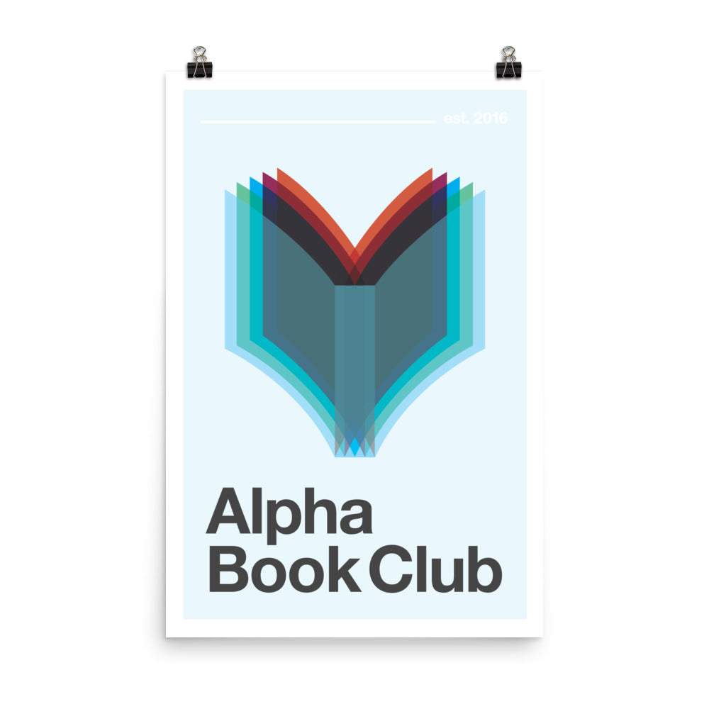 Alpha Book Club - Nerdist House San Diego 2018 Poster