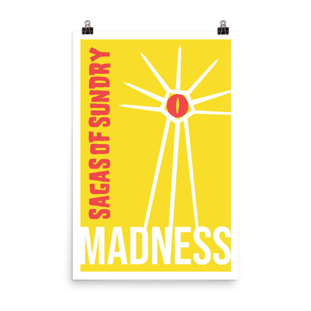 Sagas Of Sundry: Madness - Nerdist House San Diego 2018 Poster
