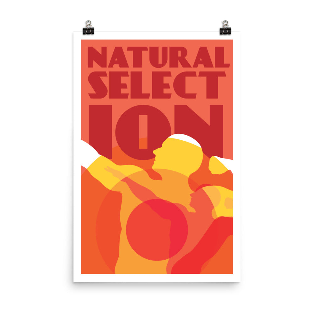 Natural Selection - Nerdist House San Diego 2018 Poster