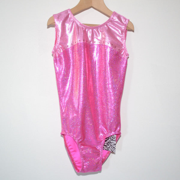 Girls gymnastic leotard