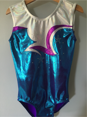 Gymstars GC Custom Leotard & Shorts Set