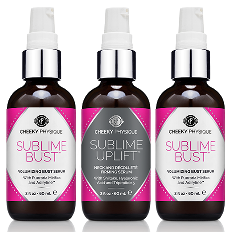 2 Bottles of Sublime Bust + 1 Bottle Sublime Uplift FREE