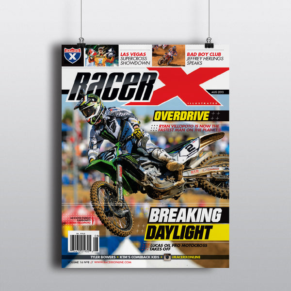 August 2013 Cover Poster