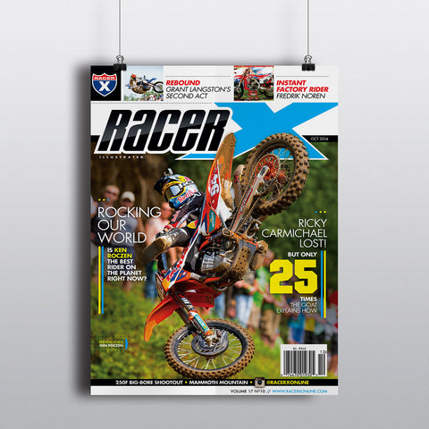 October 2014 Cover Poster