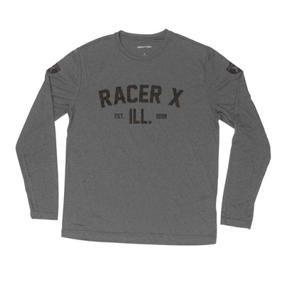 Grey Performance Long Sleeve Tee