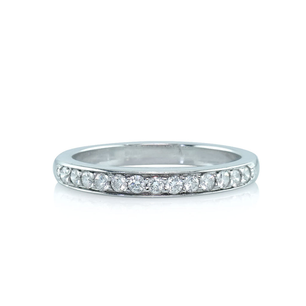 Pavé Round Diamond Band