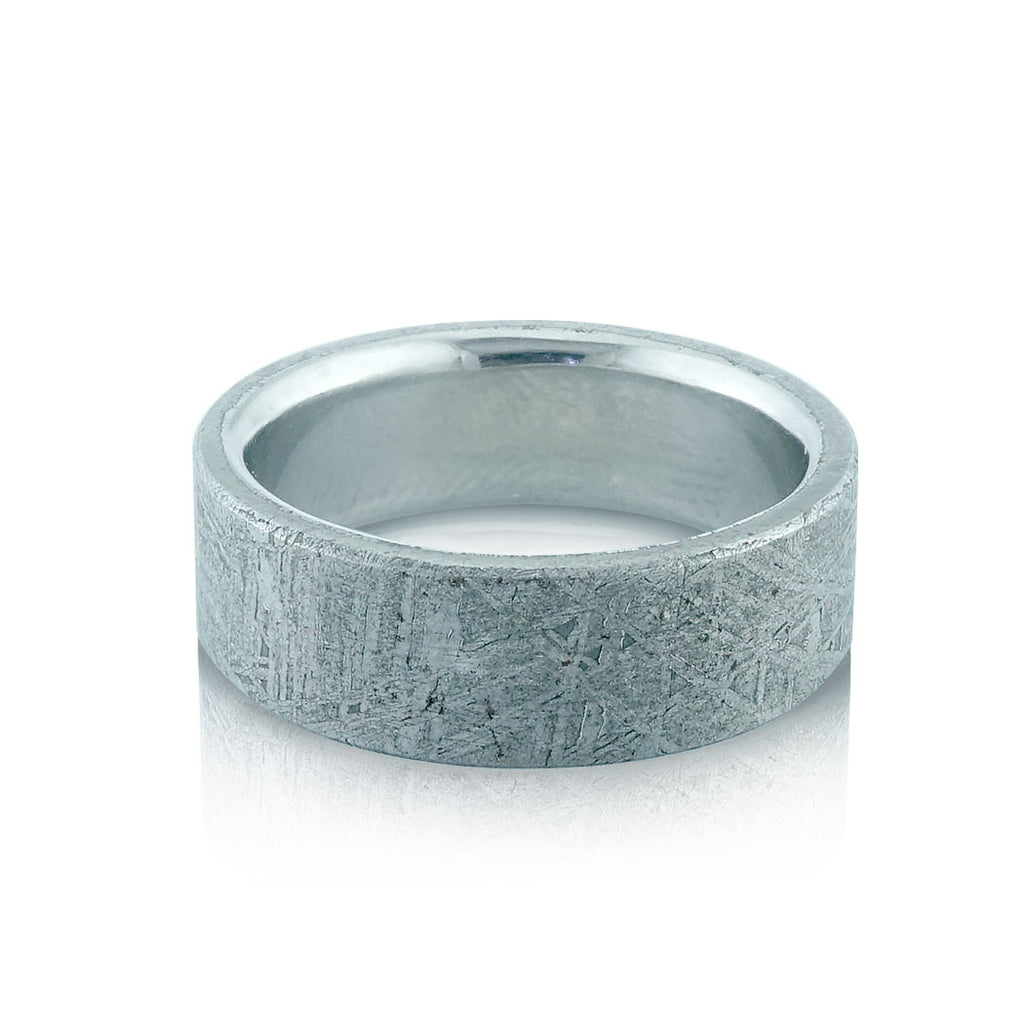 wedding ring grooved rings image flat all from court jewellery titanium