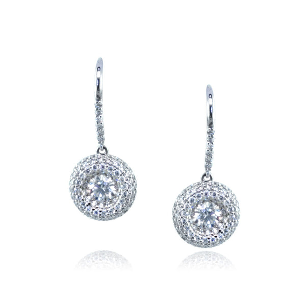 Faulhaber Diamond Eternity Earrings