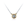 Faulhaber Bubble Diamond Necklace in Yellow Gold
