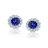 Faulhaber Le Bouquet Earrings with Tanzanites
