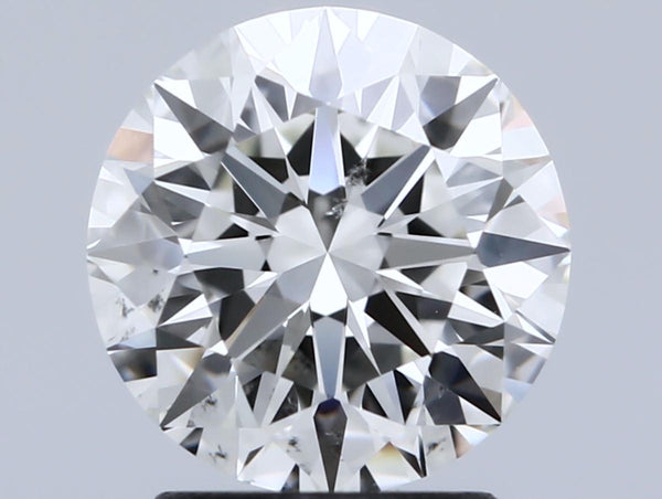 Round Cut Diamond J SI1
