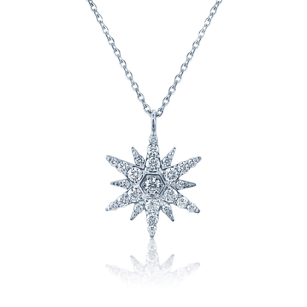 Faulhaber Bright Star Diamond Necklace