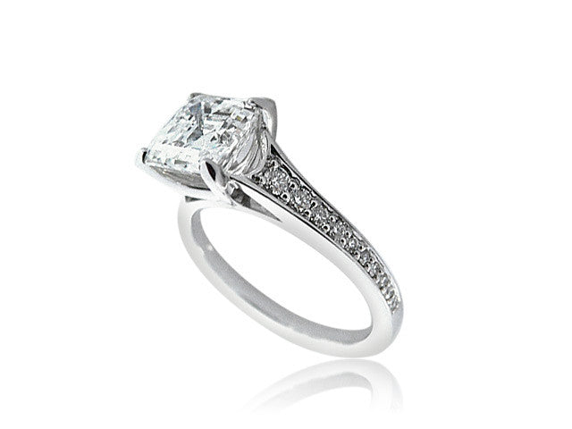 Princess Cut Diamond Engagement Ring San Diego