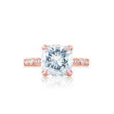 Elegant Vintage Cushion Cut Diamond Engagement Ring San Diego