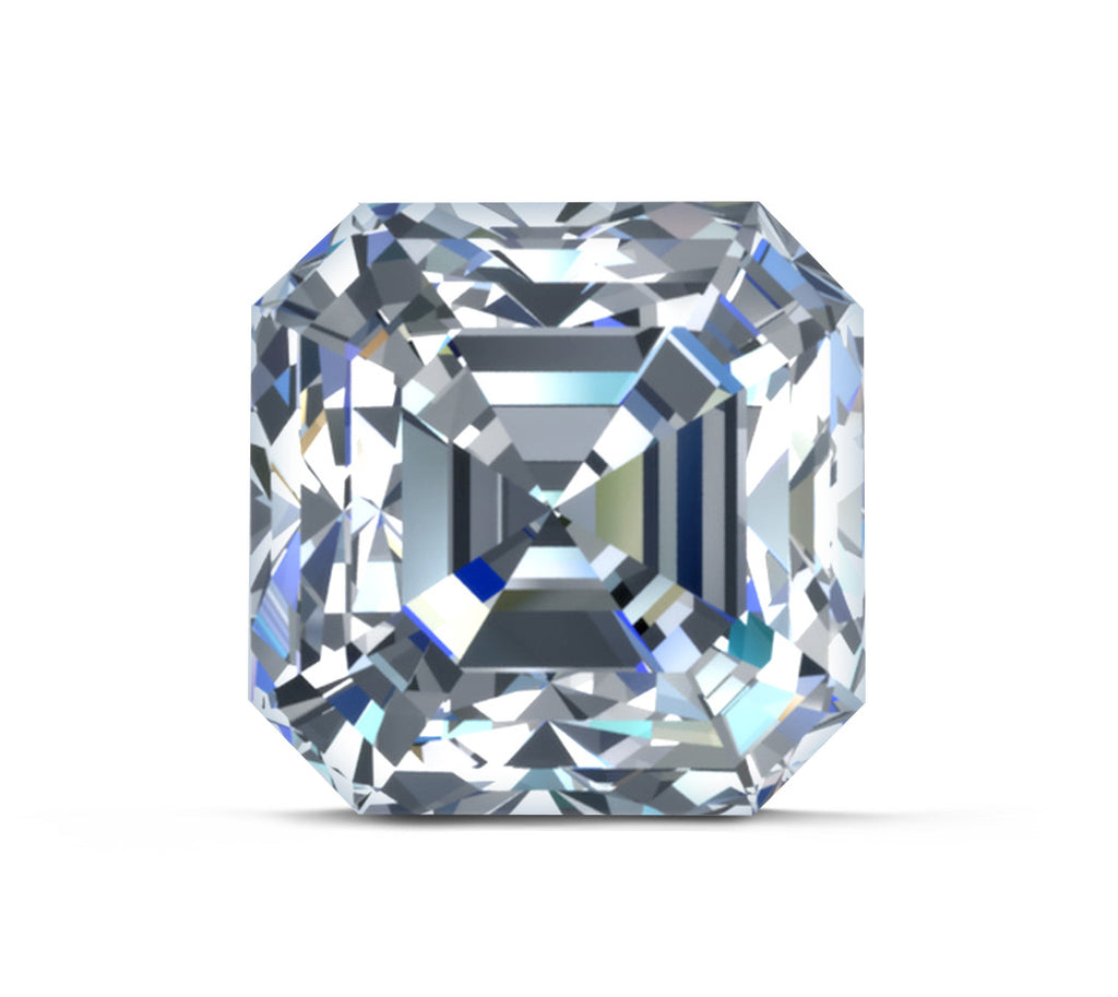 shop platinum ring p cut ct for asscher in tw diamond eternity