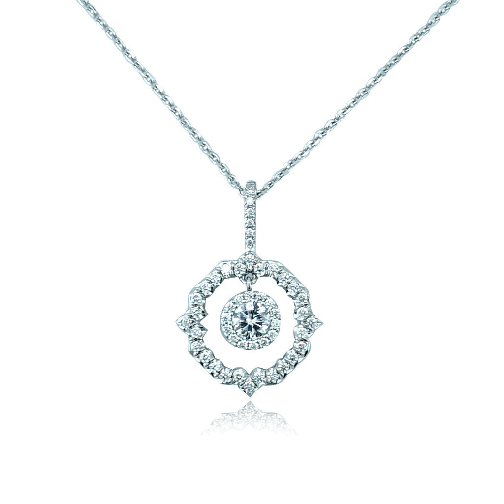 Faulhaber Alouette Diamond Necklace