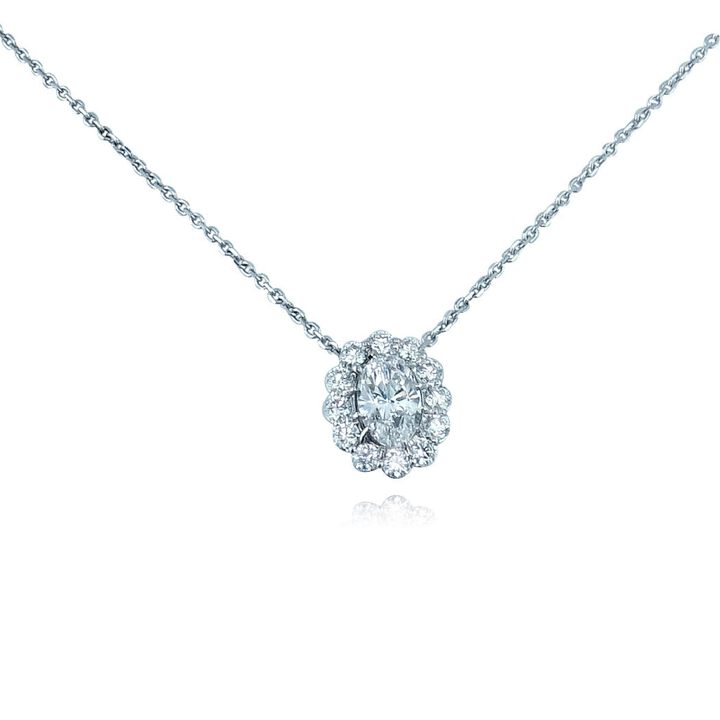 Faulhaber Le Bouquet Oval Necklace