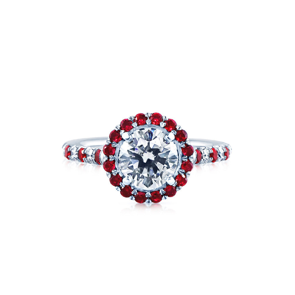 dimond diamond ring engagement diamonds rings style pave in liz with setting round