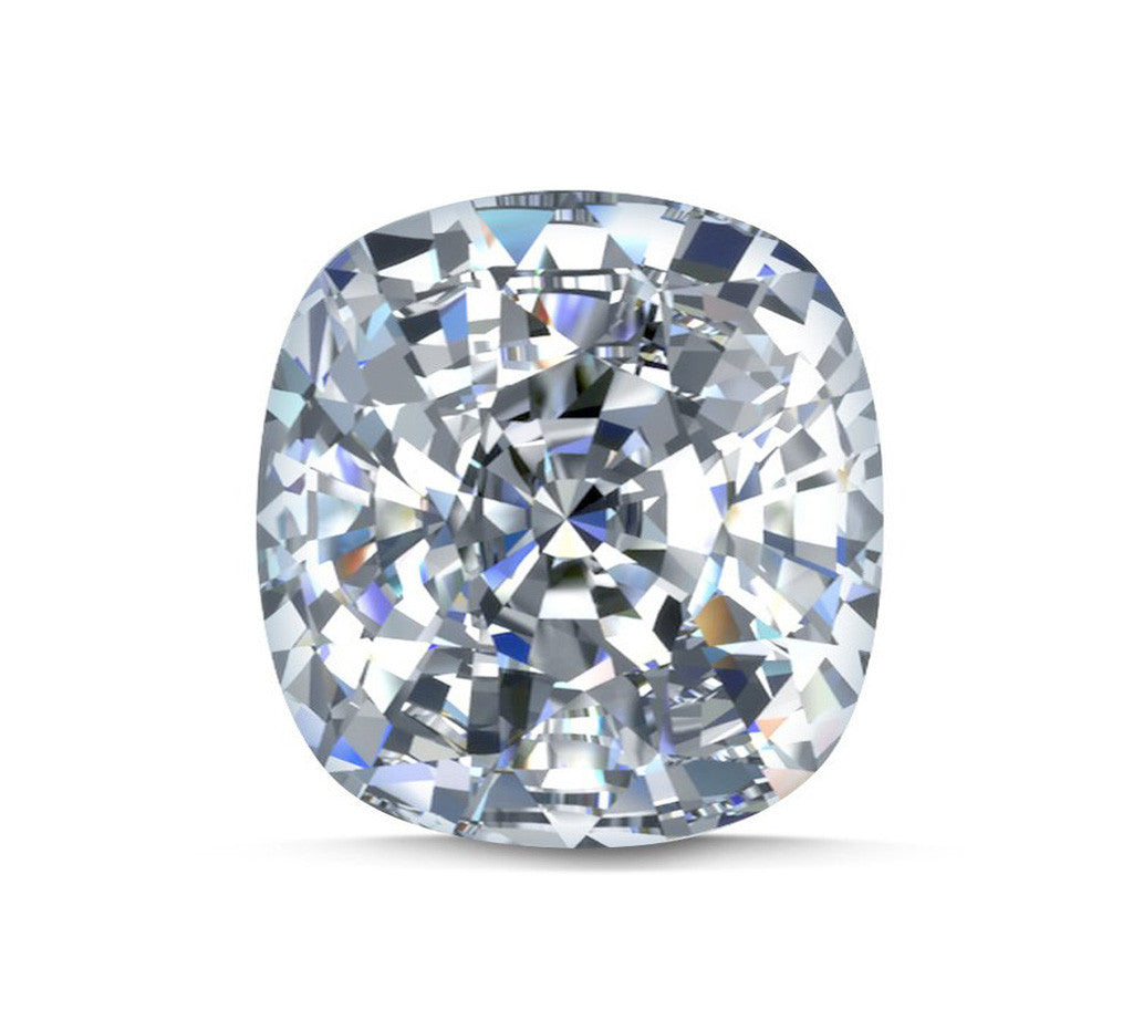 Square Cushion Shaped Diamond