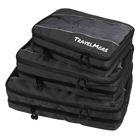Travel Packing Cubes With 2 Compartments