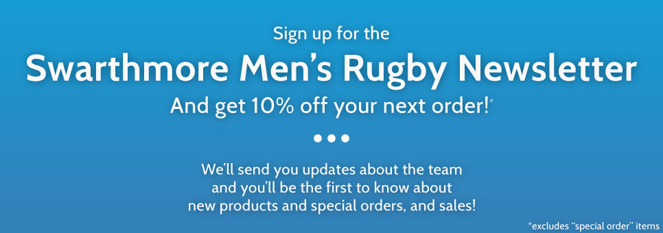 Swarthmore Men's Rugby Newsletter Signup