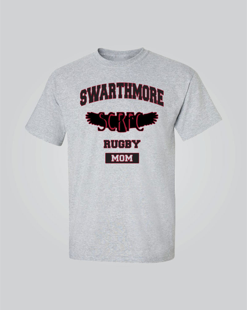 Swarthmore Men's Rugby - Rugby Mom T-Shirt