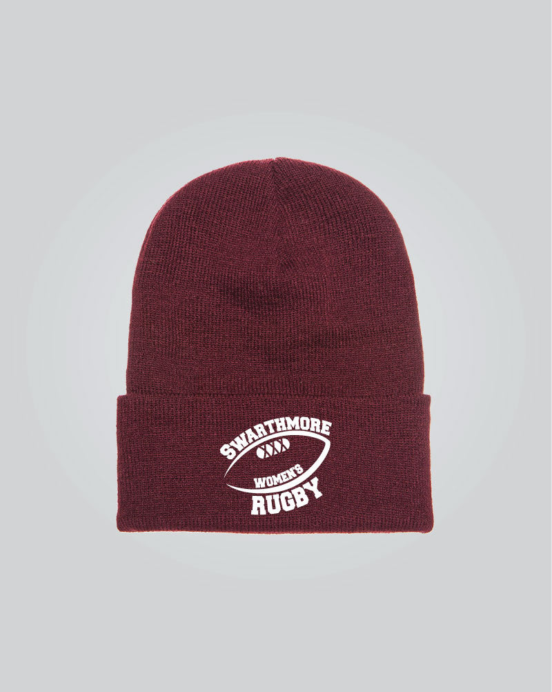 BANG TIDY CLOTHING Hedgehog Face Cute Animal Embroidered Beanie Hat Logo  Men's - Black