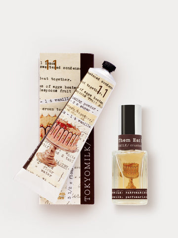 Let Them Eat Cake Brilliant Pair Gifting with Hand Cream and Perfume
