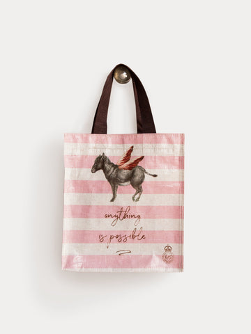 Donkey Anything is Possible Donkey Small Tote
