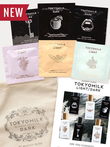 TokyoMilk Dark & Light Lotion Sample Pack Collection