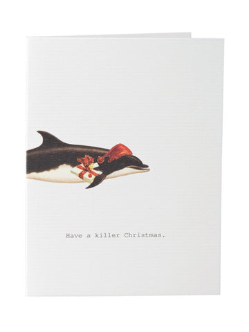 Have a Killer Christmas Greeting Card