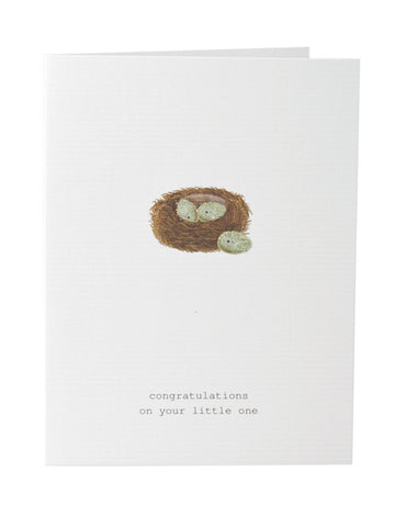 Congratulations On Your Little One Greeting Card