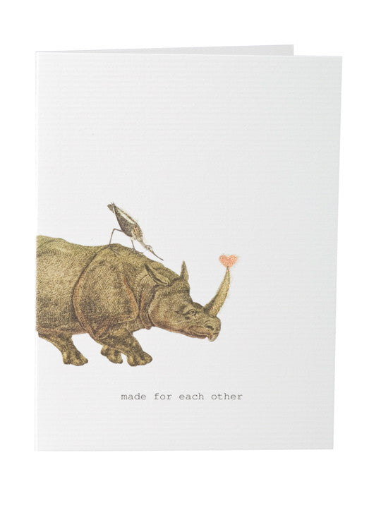Made For Each Other: Greeting Card - Made For Each Other