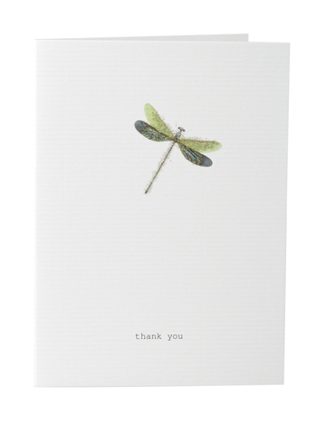 Thank You Card on Blank Stationery