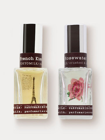 French Kiss and Gin & Rosewater Dynamic Perfume Duo