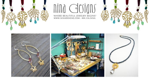Brandy Thomason McNair, designer and founder of Bella Vita Jewelry, featured on ninadesigns.com