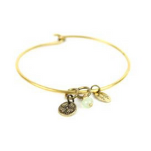 TINY TOKEN Bangle | Clover