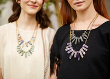BIB Necklace | Black Line Jasper