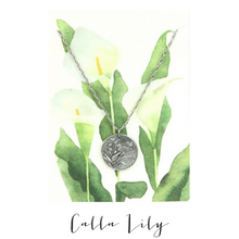 IN THE GARDEN | Calla Lily Necklace
