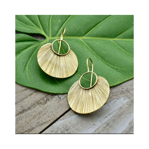 EARRINGS | Etched Petal