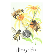 IN THE GARDEN | Honey Bee Necklace