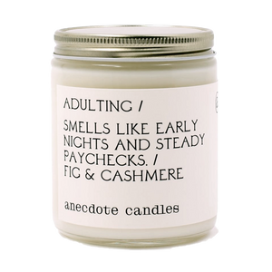 CANDLE | Adulting