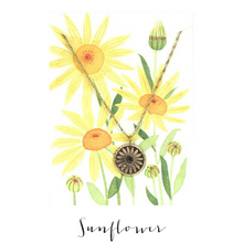 IN THE GARDEN | Sunflower Necklace