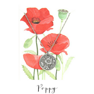 IN THE GARDEN | Poppy Necklace