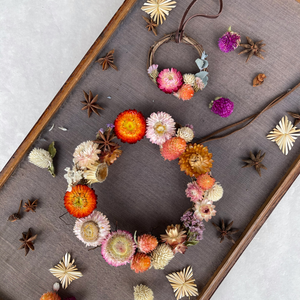 WORKSHOP | Dried Flower Forever Wreaths