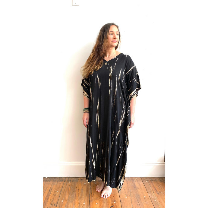 APPAREL | Shibori Full Caftan