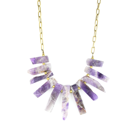 BIB Necklace | Amethyst